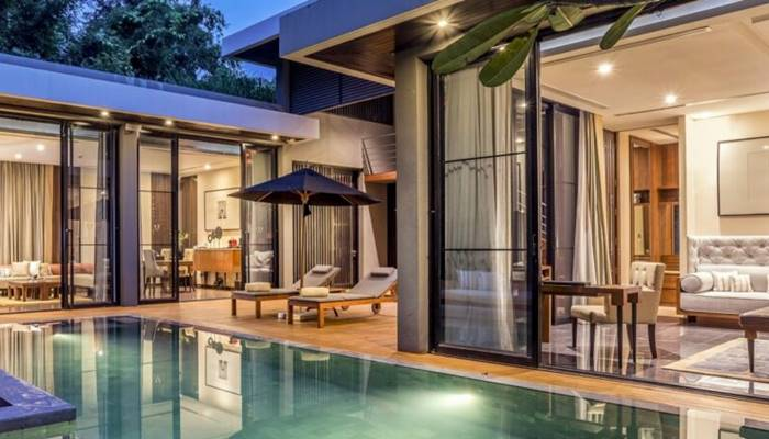 วิลล่าส่วนตัว pool villa