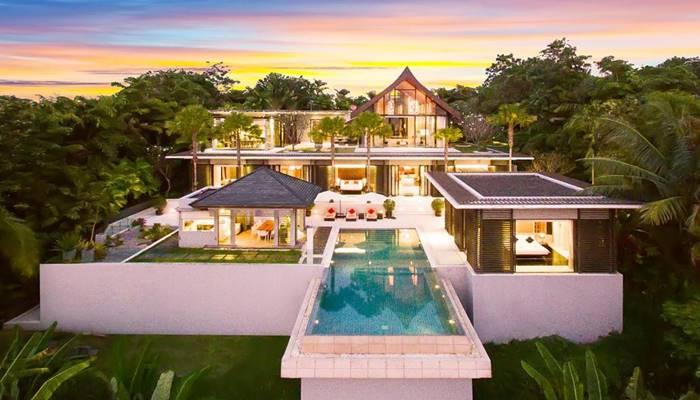 villa phuket beachfront สวยหรู